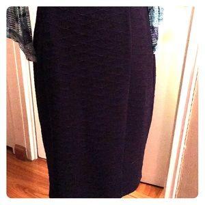 Blue Pencil skirt Medium